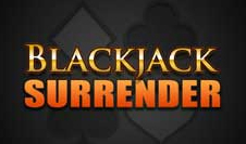 black jack surrender